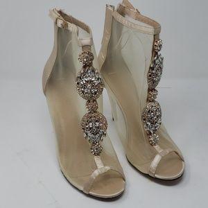 Chase + Chloe Shoes - Chase + Chloe Mesh and Rhinestone Heels Size 11